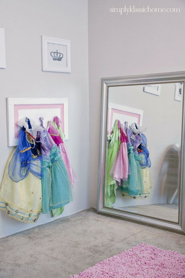kids dress up station & Six Ways to Display Your Childu0027s Special Occasion Dress After Sheu0027s ...