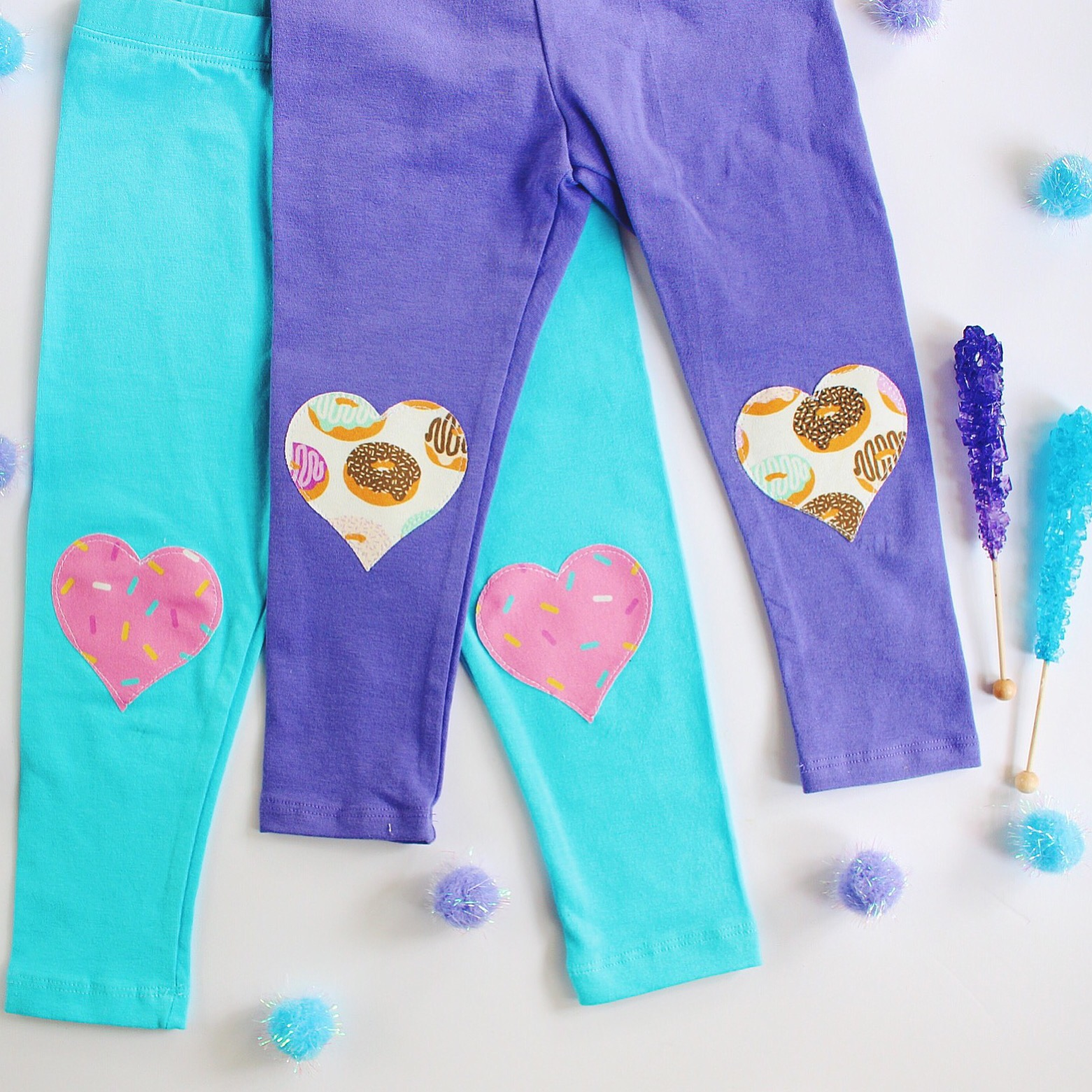 cuteheads  donut leggings