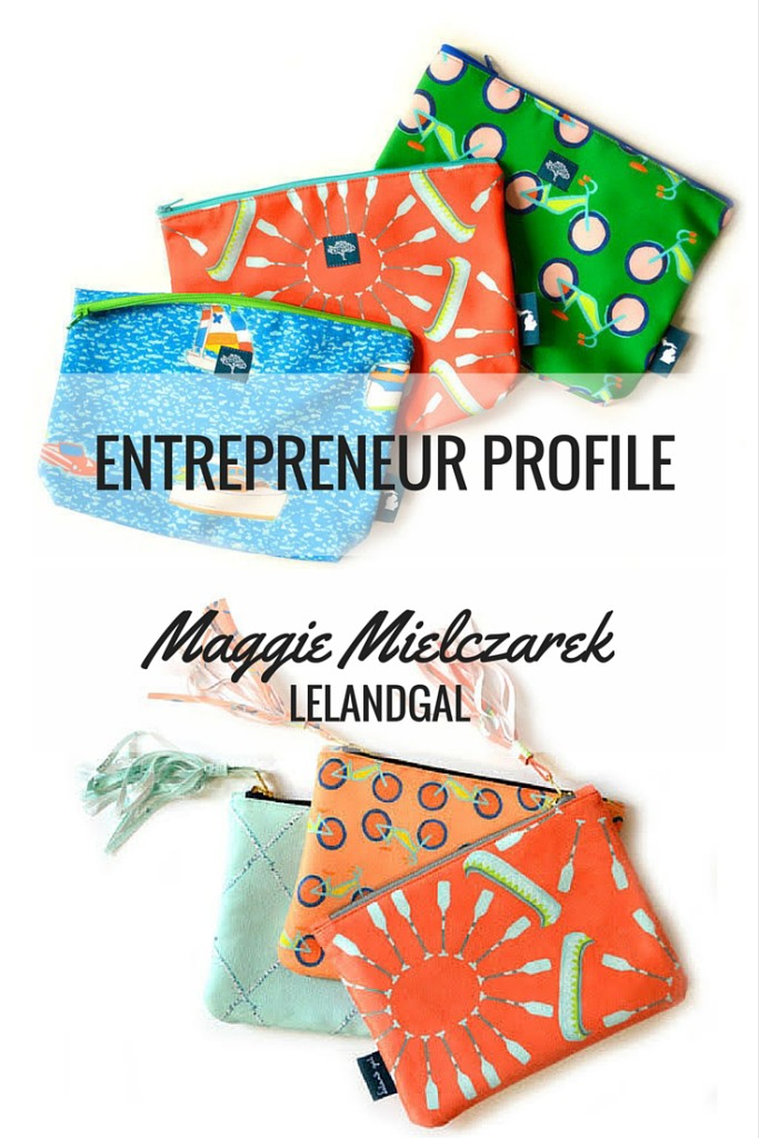 Small Business Profile: 10 Questions with Maggie, the Founder of Lelandgal | Read more at blog.cuteheads.com