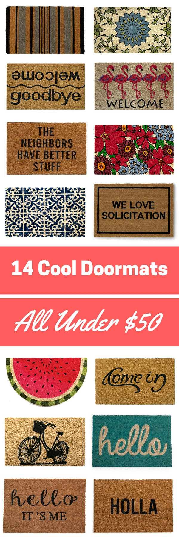 14 cool doormats all under 50