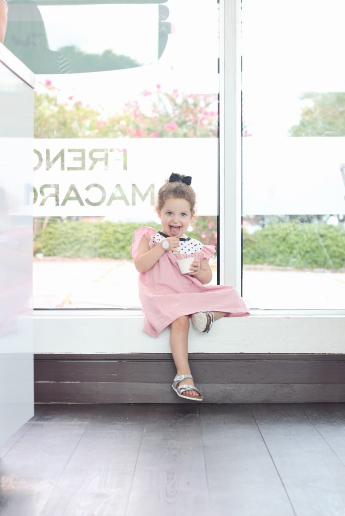 Ice cream date with my toddler   Kids fashion