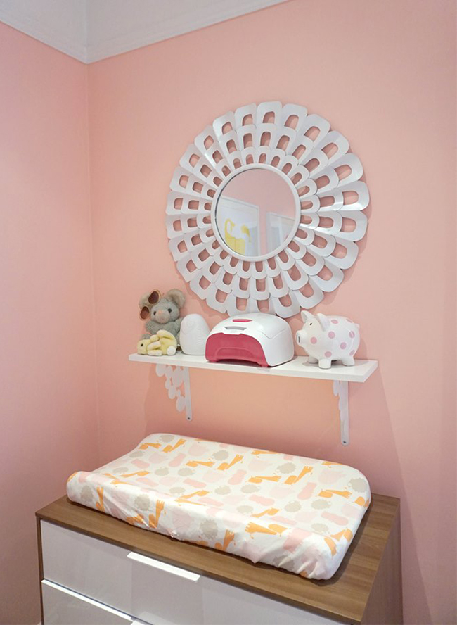 Pink and orange nursery |These Cool Kids Rooms Are So Amazing, You'll Want Them for Yourself