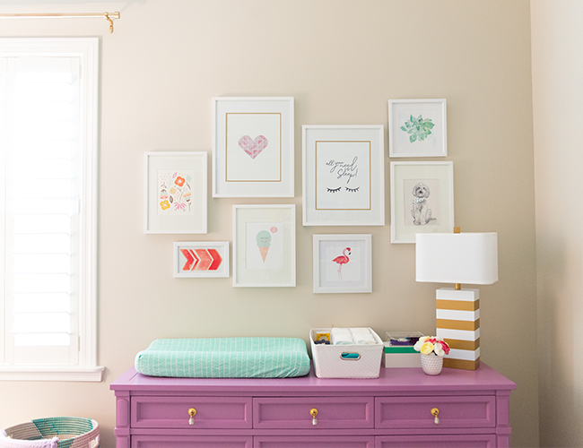 Floral nursery | These Cool Kids Rooms Are So Amazing, You'll Want Them for Yourself
