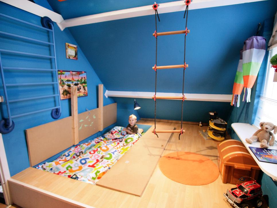 Hidden bed |These Cool Kids Rooms Are So Amazing, You'll Want Them for Yourself