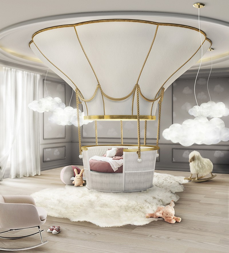 Hot air balloon bed | These Cool Kids Rooms Are So Amazing, You'll Want Them for Yourself