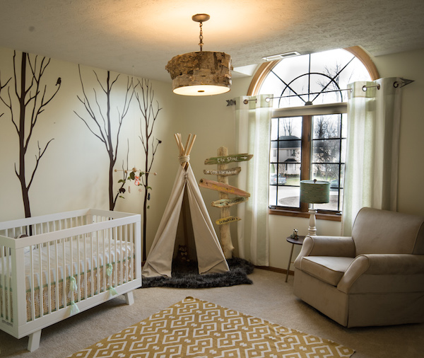 Outdoor themed nursery |These Cool Kids Rooms Are So Amazing, You'll Want Them for Yourself