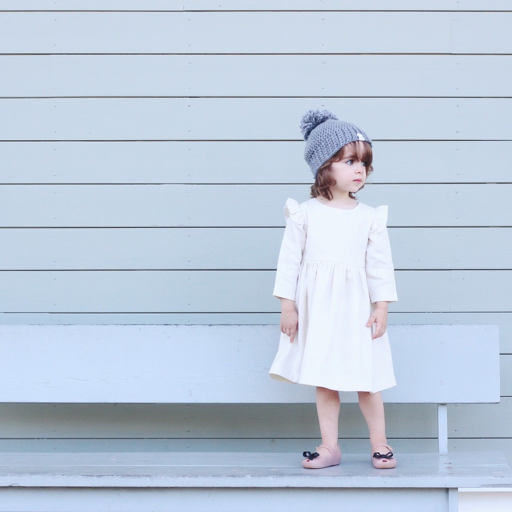 Cuteheads dress with Mini Melissa Shoes | Shop the complete guide to cute kids shoes for