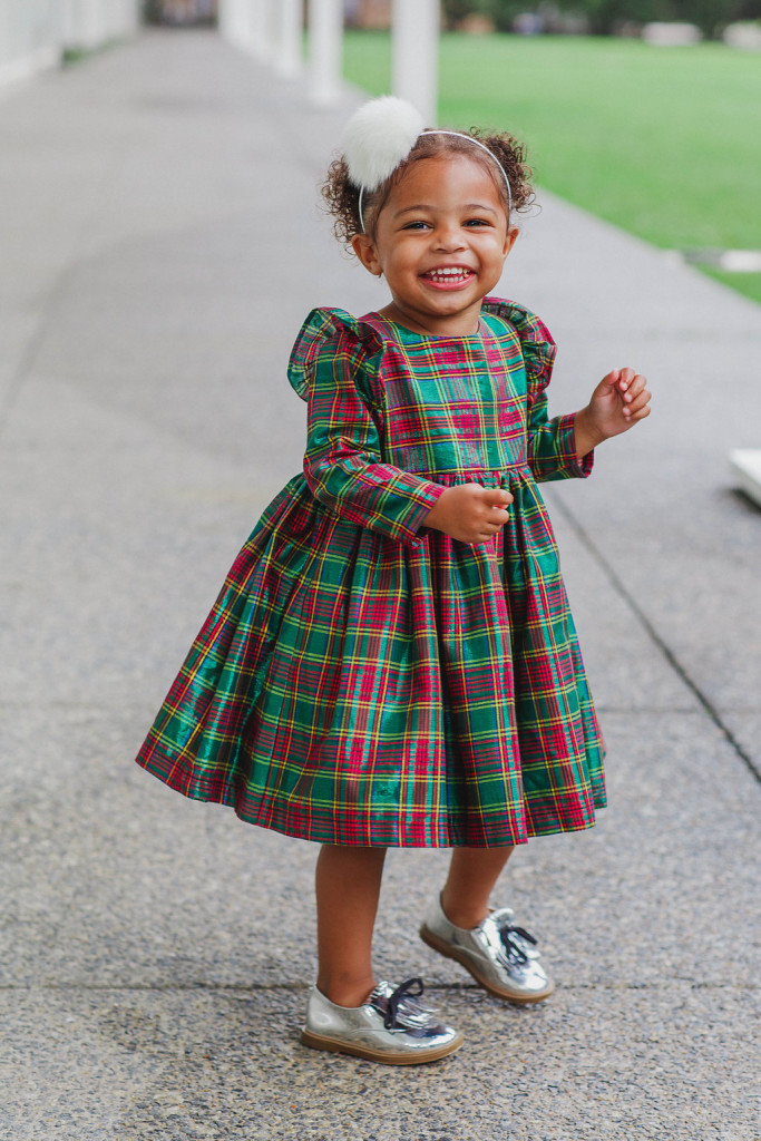 the noelle dress red green and gold shimmery cotton the cutest christmas dresses - Christmas Plaid Dress