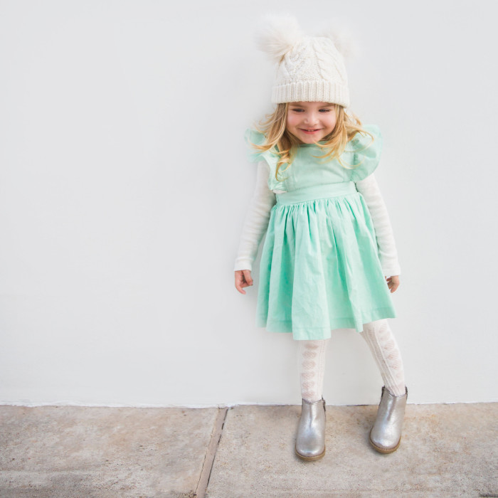 How to Wear a Pinafore Dress All Year Round