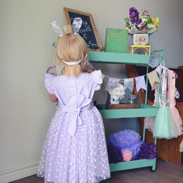 custom lavender birthday party dress // design your own special occasion dress at cuteheads.com