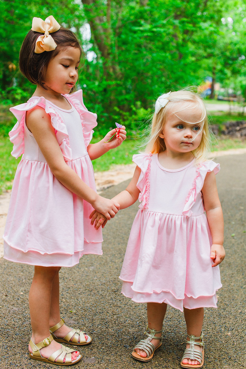 Spring and Summer dresses for girls from cuteheads. Gorgeous pink jersey dresses, now available at cuteheads.com