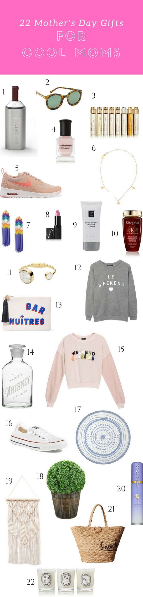 22 Mother's Day Gifts for Cool Moms Who Already Have Everything // Shop the guide at blog.cuteheads.com
