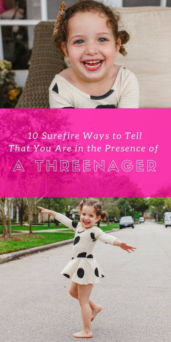 10 Surefire Ways to Tell That You Are in the Presence of Threenager