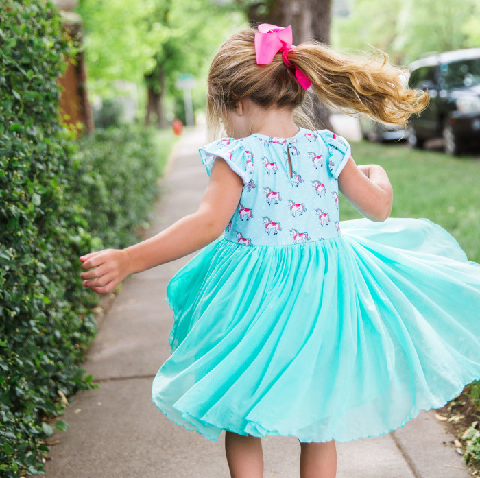 Introducing the Isla Unicorn Party, the perfect dress for a unicorn birthday party!