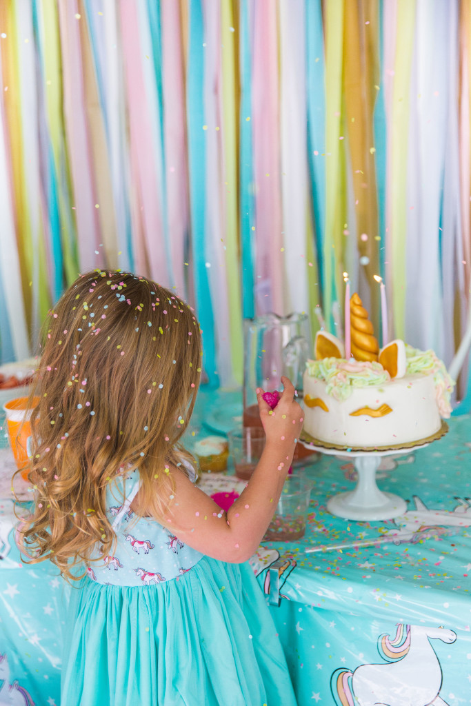 Introducing the Isla Unicorn Dress, the perfect dress for a unicorn birthday party!