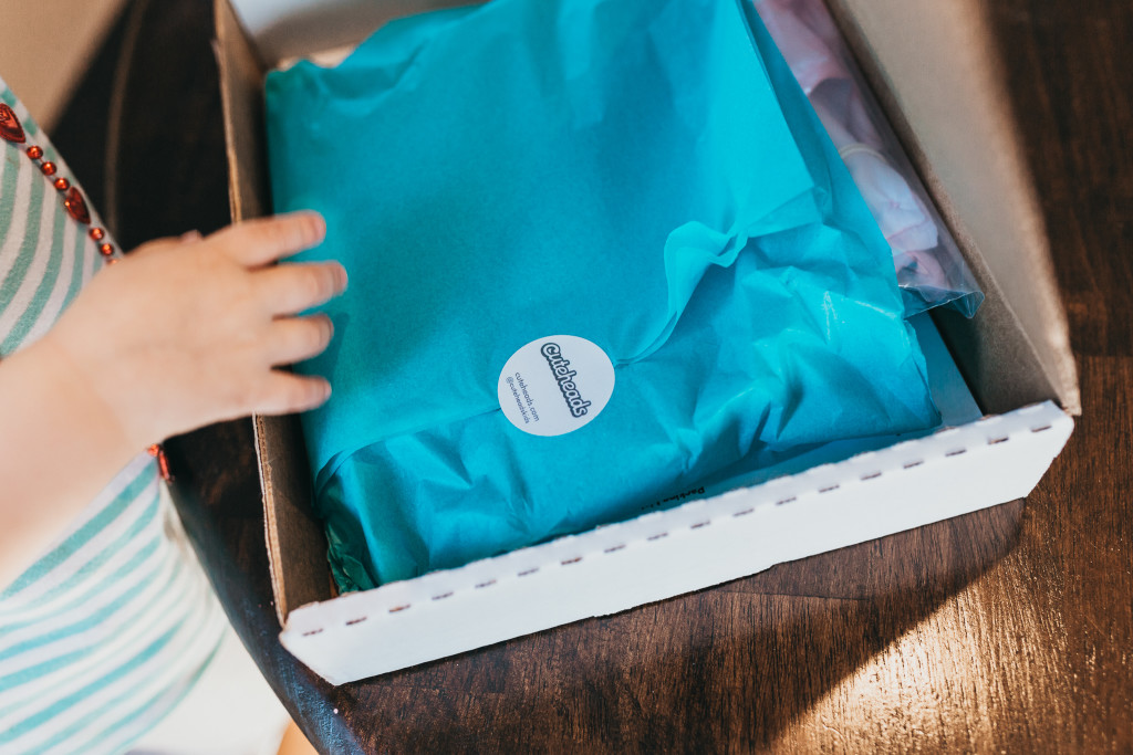 Introducing a subscription box for girls that your daughter will love. Get a surprise dress in the mail every month! Learn more at cuteheads.com.