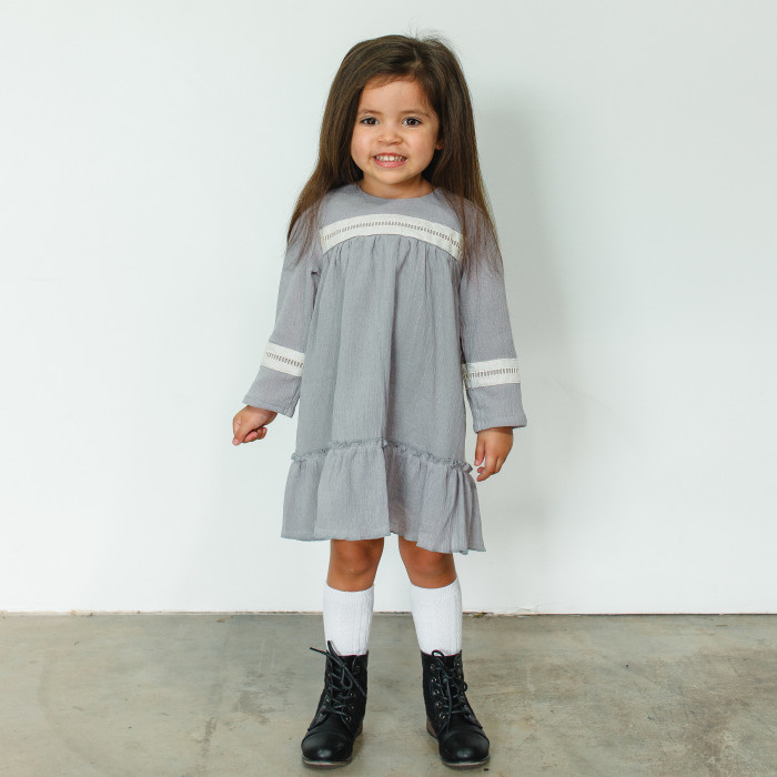 The Jane dress from cuteheads. The perfect Thanksgiving dress for kids, only available at cuteheads.com.