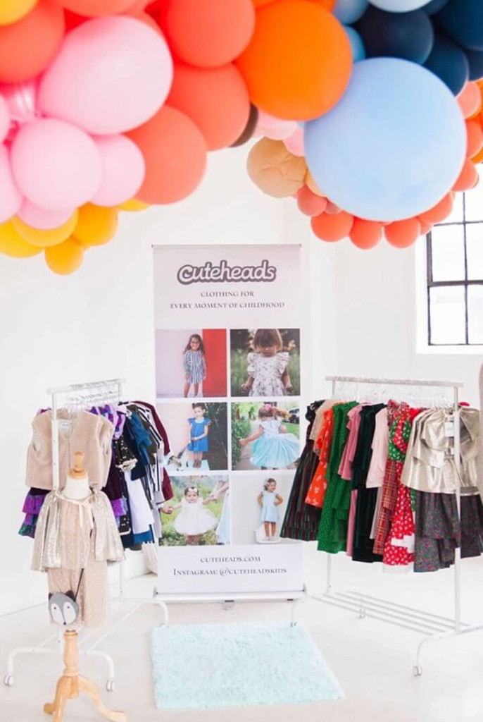 Holiday Kids Fashion at the cuteheads Holiday Pop-Up Shop