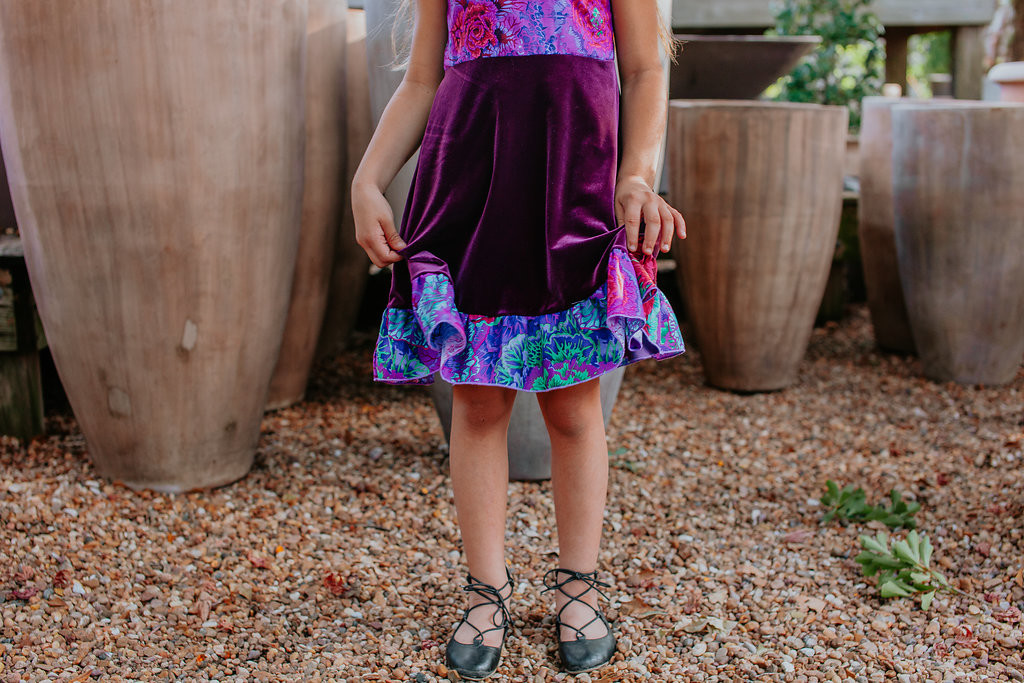 purple velvet holiday dresses