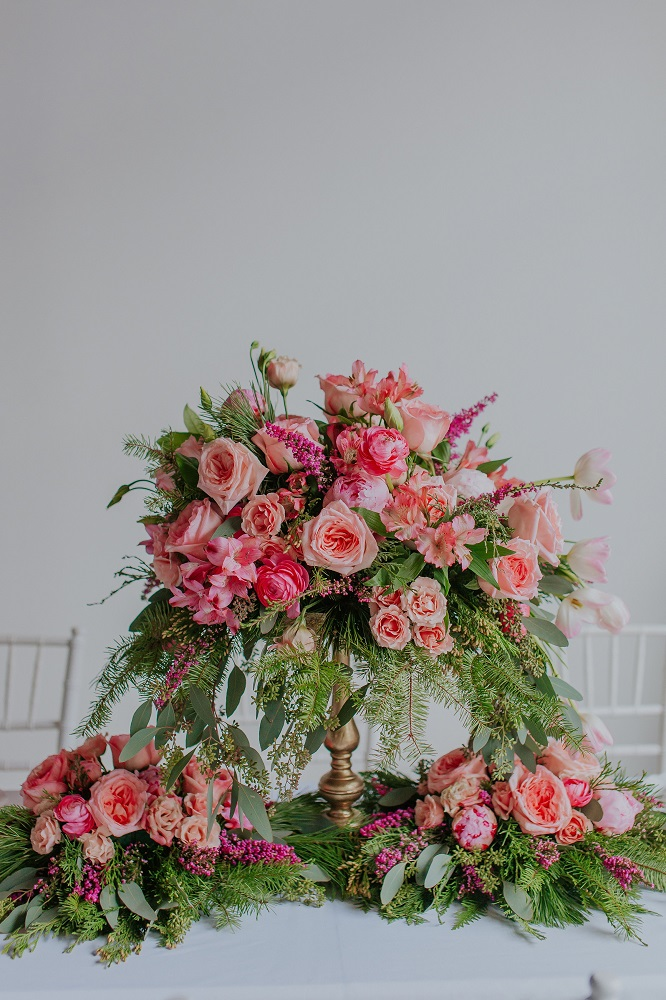 pink and green florals -- see all the details at cuteheads.com
