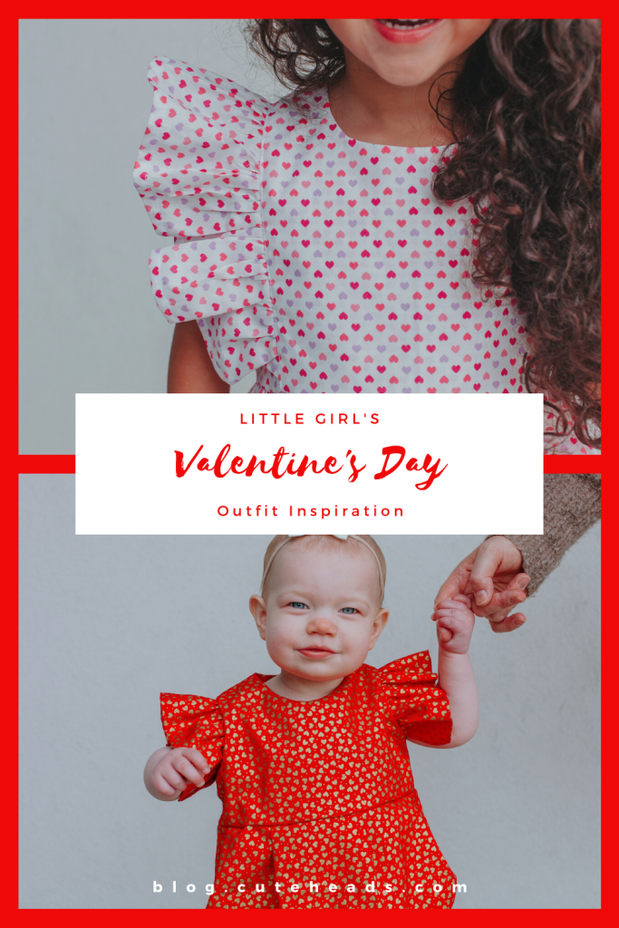 Little Girl's Valentine's Day Outfit Inspiration -- blog.cuteheads.com