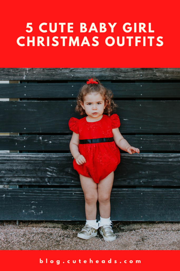 5 Cute Baby Girl Christmas Outfits