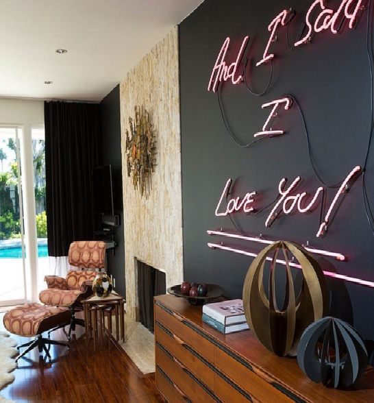 Using Neon In Your Home Decorating Cool Signs For The 2