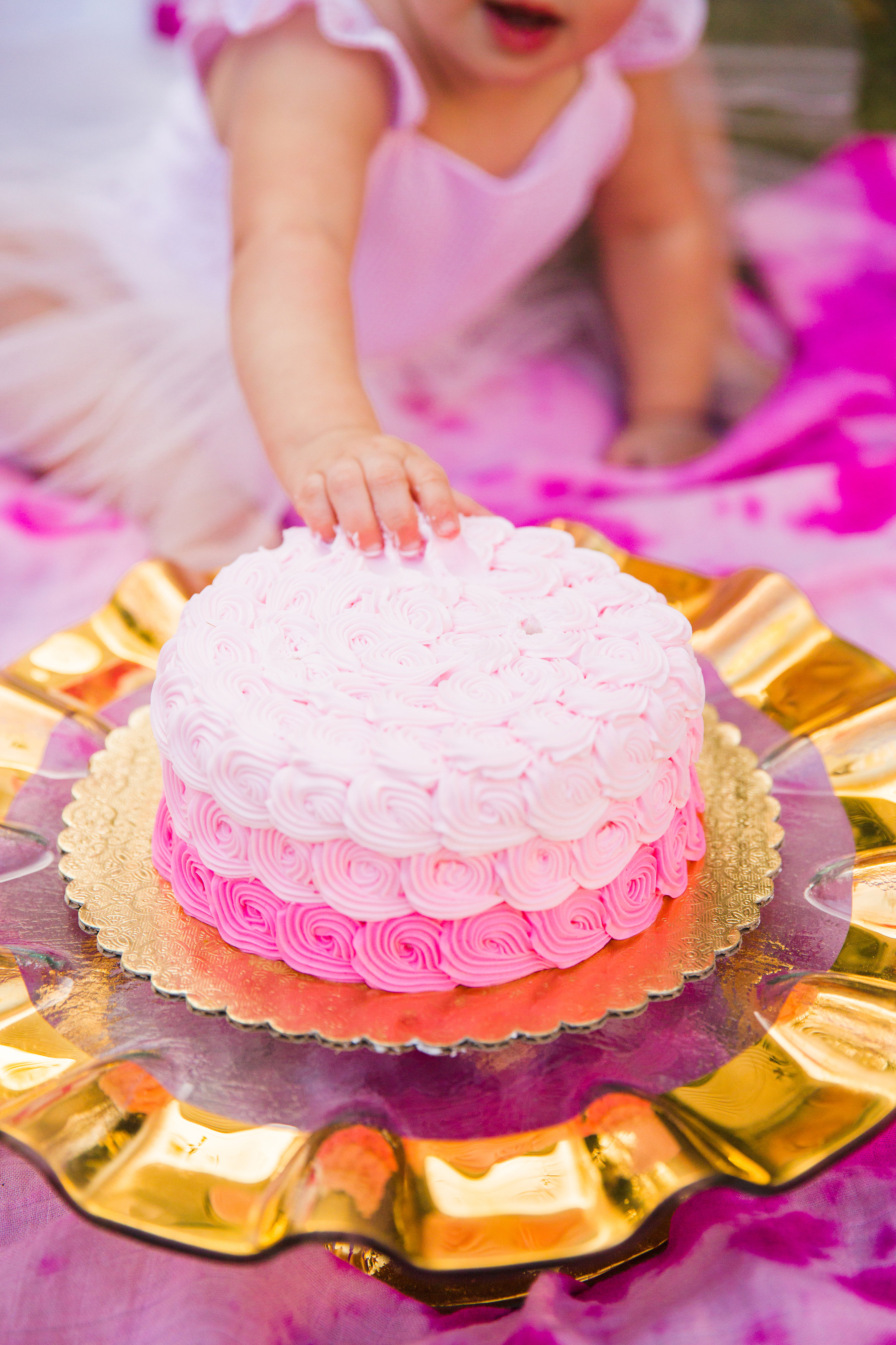 Super Pink Gold Birthday Party Photoshoot