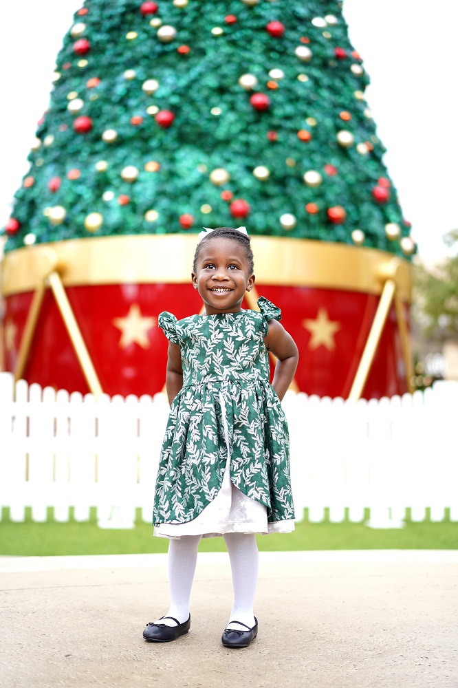 the cutest one of a kind Christmas dresses for girls to celebrate the holidays, only from cuteheads